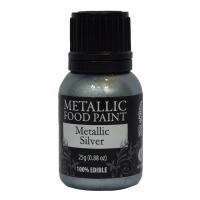 Rainbow Metallic Paint Silver