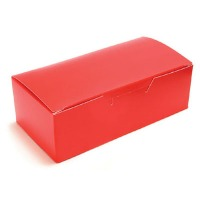 1/2 LB Red Candy Box