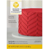 Wilton Red Fondant 24 OZ