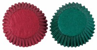 Red & Green Baking Cups 75 CT