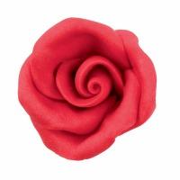 Red Icing Roses Medium 8 CT