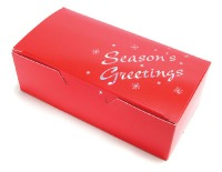Red Seasons Greetings Box 1/2#