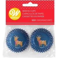 Reindeer w/Lights Mini Cups