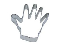 """Right Hand 3.5"""" Cookie Cutter"""