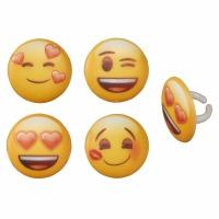 Rings Emoji Heart 12 ct