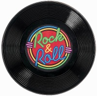"Rock N Roll 21"" Record"