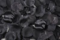 Fake Rose Petals Black 100 Count