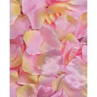 Fake Rose Petals Mixed Pinks 100 Count