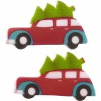 Royal Icing Car with Tree (12)