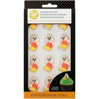 Royal Icing Decoration Candy Corn