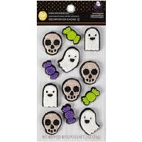Royal Icing Ghost/Skull 12CT