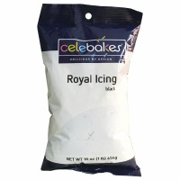 Royal Icing Mix Black 16 OZ