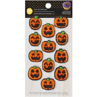 Royal Icing Pumpkin 12CT