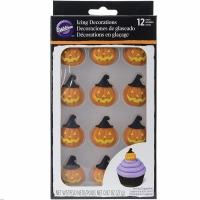 Royal Icing Pumpkin Witch Hat
