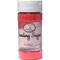 Sanding Sugar 4 OZ Coral