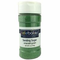 Sanding Sugar 4 OZ Emerald Greed
