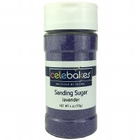 Sanding Sugar 4 OZ Lavender