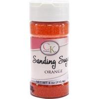 Sanding Sugar 4 OZ Orange
