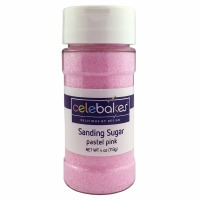 4 oz. Pastel Pink Sanding Sugar