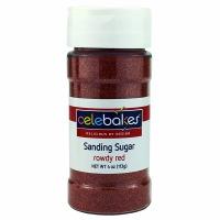 Sanding Sugar 4 OZ Red
