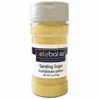 Sanding Sugar 4 OZ Yellow