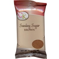 Sanding Sugar 16 OZ Brown