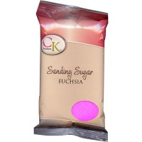 Sanding Sugar Fuschia 16 OZ