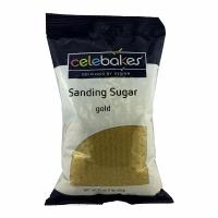 Sanding Sugar 16 OZ Gold