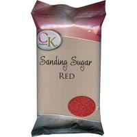 Sanding Sugar 16 OZ Red