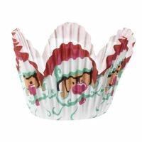 Santa Mini Petal Cups 48 CT