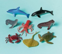 Sea Animal Cake Toppers 12 CT