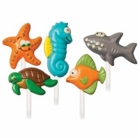 Sea Creatures Lolly Candy Mold