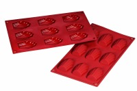 Silicone Mold Madeleine 1oz  9 CAV