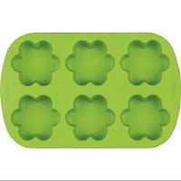 Silicone Flower Mold 6cav