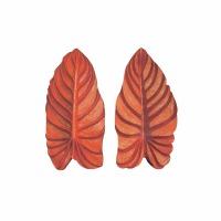 Silicone Veiner Mold Taro Leaf