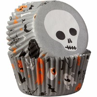 Skull Bake Cup 75 CT