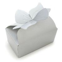 Small Bow Box Silver