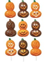 Smiling Pumpkin Lolli Candy Mold (4)