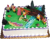 Snow White 7 Dwarves Cake Kit