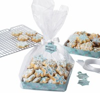 Snowflake Cookie Tray Kit 4 CT