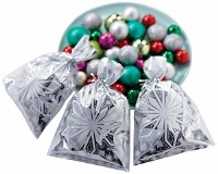 Snowflake Foil Bag 8 CT
