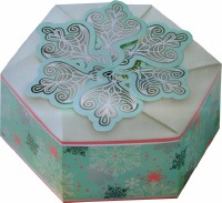 Snowflake Hexegon Box 3 CT