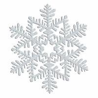 Snowflake Gold Gliltter