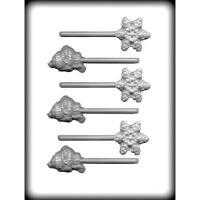 Snowflakes & Snowman Lolli (6)