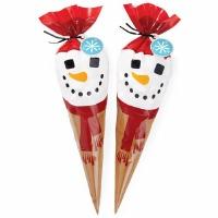 Snowman Cocoa Cone Kit 10 CT