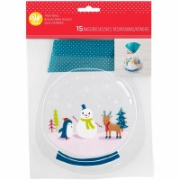 Snowman & Friends Treat Bag