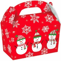 Snowman Gable Box 5CT