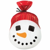 Snowman Shaped Bags 20 CT
