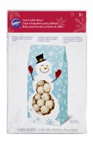Snowman Tent Cookie Box 3EA