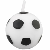 Soccer Ball Candles 6 CT